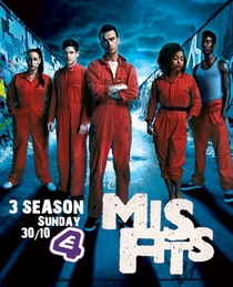 Misfits (3ª Temporada) - Poster / Capa / Cartaz - Oficial 5