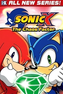Sonic X (1ª Temporada) - Poster / Capa / Cartaz - Oficial 3
