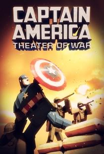 Capitão América - Teatro de Guerra - Poster / Capa / Cartaz - Oficial 1