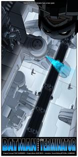 Batman vs O Exterminador do Futuro - Poster / Capa / Cartaz - Oficial 1