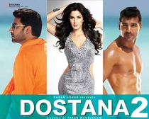 Dostana 2 - Poster / Capa / Cartaz - Oficial 1
