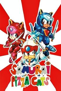 Samurai Pizza Cats - Poster / Capa / Cartaz - Oficial 8