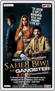 Saheb Biwi Aur Gangster - Poster / Capa / Cartaz - Oficial 6