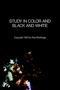 Study in Color and Black & White - Poster / Capa / Cartaz - Oficial 1