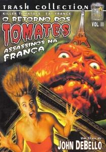 Os Tomates Assassinos Atacam a França - Poster / Capa / Cartaz - Oficial 2