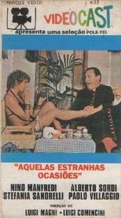 Aquelas Estranhas Ocasiões - Poster / Capa / Cartaz - Oficial 1