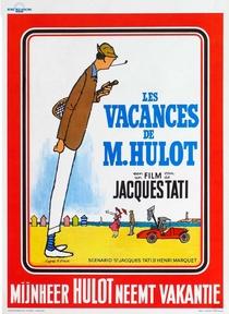 As Férias do Sr. Hulot - Poster / Capa / Cartaz - Oficial 9