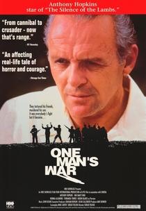 A Guerra de um Homem - Poster / Capa / Cartaz - Oficial 3