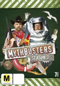 Os Caçadores de Mitos (3ª Temporada) - Poster / Capa / Cartaz - Oficial 1