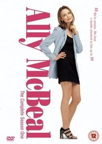 Ally McBeal (1°Temporada) - Poster / Capa / Cartaz - Oficial 1