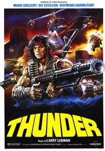Thunder - Um Homem Chamado Trovão - Poster / Capa / Cartaz - Oficial 1
