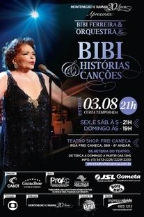 Bibi Ferreira - Histórias e Canções - Poster / Capa / Cartaz - Oficial 1