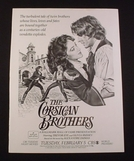 Os Irmãos Corsos (The Corsican Brothers)