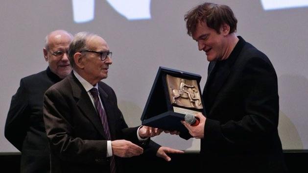 Morricone diz não ter vontade de trabalhar com Tarantino novamente