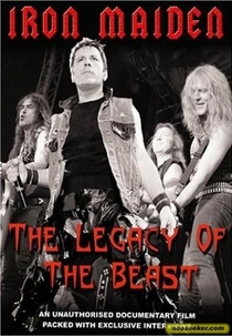 Iron Maiden - The Legacy of the Beast - Poster / Capa / Cartaz - Oficial 1