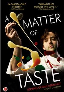 A Matter Of Taste: Serving Up Paul Liebrandt - Poster / Capa / Cartaz - Oficial 1