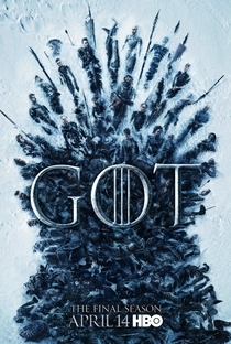 Game of Thrones (8ª Temporada) - Poster / Capa / Cartaz - Oficial 1