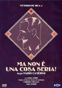 Ma non è una cosa seria - Poster / Capa / Cartaz - Oficial 1