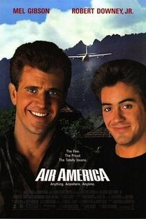 Air America - Loucos Pelo Perigo - Poster / Capa / Cartaz - Oficial 1