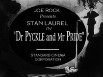 Dr. Pyckle e Mr. Pride - Poster / Capa / Cartaz - Oficial 1