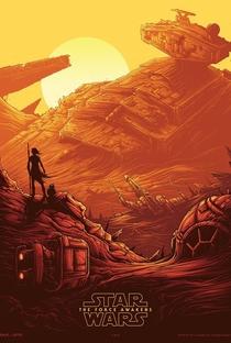 Star Wars, Episódio VII: O Despertar da Força - Poster / Capa / Cartaz - Oficial 6