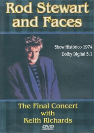 Rod Stewart and Faces The Final Concert With Keith Richards - Poster / Capa / Cartaz - Oficial 1
