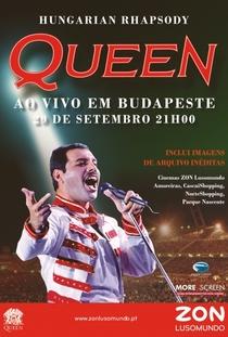 Hungarian Rhapsody: Queen Ao Vivo em Budapeste '86 - Poster / Capa / Cartaz - Oficial 1