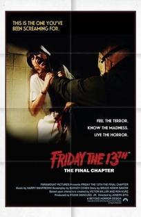 Sexta-Feira 13: Parte 4 - O Capítulo Final - Poster / Capa / Cartaz - Oficial 4