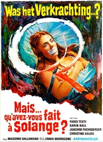 O Quê Vocês Fizeram com Solange? - Poster / Capa / Cartaz - Oficial 6