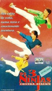3 Ninjas Contra-Atacam - Poster / Capa / Cartaz - Oficial 3