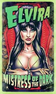 Elvira - A Rainha das Trevas - Poster / Capa / Cartaz - Oficial 10