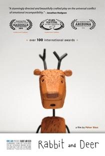 A Coelha e o Veado - Poster / Capa / Cartaz - Oficial 1