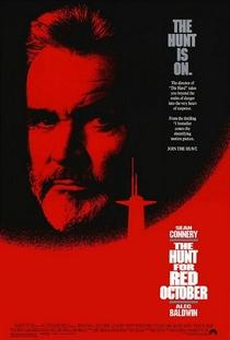 Caçada ao Outubro Vermelho - Poster / Capa / Cartaz - Oficial 2