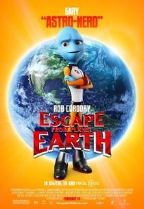 A Fuga do Planeta Terra - Poster / Capa / Cartaz - Oficial 5