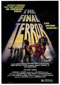 The Final Terror - Poster / Capa / Cartaz - Oficial 1