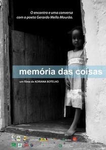 Memória das Coisas - Poster / Capa / Cartaz - Oficial 1