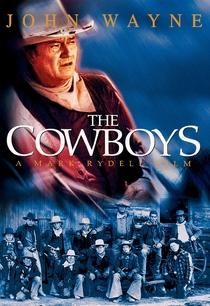 Os Cowboys - Poster / Capa / Cartaz - Oficial 5