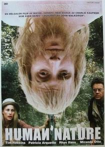A Natureza Quase Humana - Poster / Capa / Cartaz - Oficial 4