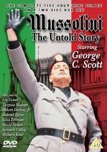 Mussolini - A História Não Contada - Poster / Capa / Cartaz - Oficial 2