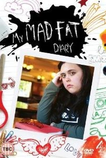 My Mad Fat Diary (1ªTemporada) - Poster / Capa / Cartaz - Oficial 5