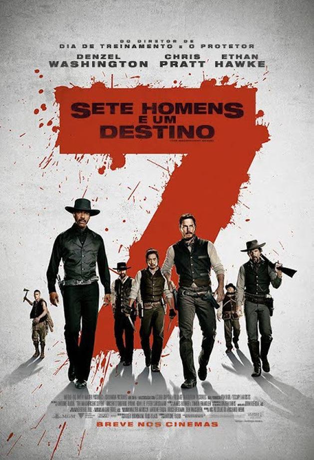 Crítica: Sete Homens e Um Destino (2016, Antoine Fuqua)