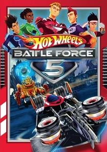 Hot Wheels Battle Force 5 - Poster / Capa / Cartaz - Oficial 1