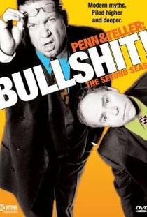 Penn & Teller: Bullshit! (1°Temporada) - Poster / Capa / Cartaz - Oficial 1