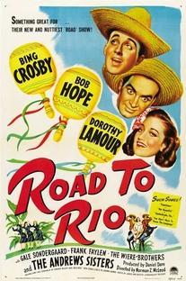A Caminho do Rio - Poster / Capa / Cartaz - Oficial 1