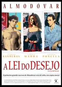 A Lei do Desejo - Poster / Capa / Cartaz - Oficial 1