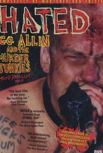 Hated: GG Allin and the Murder Junkies - Poster / Capa / Cartaz - Oficial 2