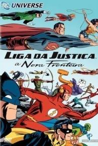 Liga da Justiça - A Nova Fronteira - Poster / Capa / Cartaz - Oficial 1