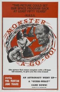 Monster A Go Go - Poster / Capa / Cartaz - Oficial 1