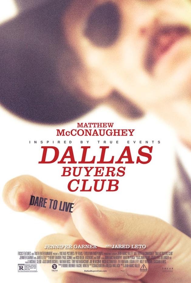 """Matthew McConaughy nas primeiras cenas de """"Dallas Buyers Club"""""""