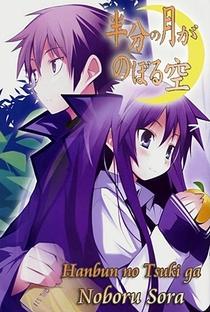 Hanbun no Tsuki ga Noboru Sora - Poster / Capa / Cartaz - Oficial 3